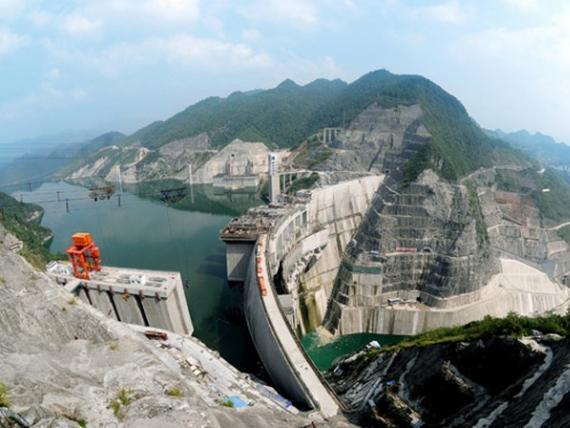 贵州构皮滩水电站